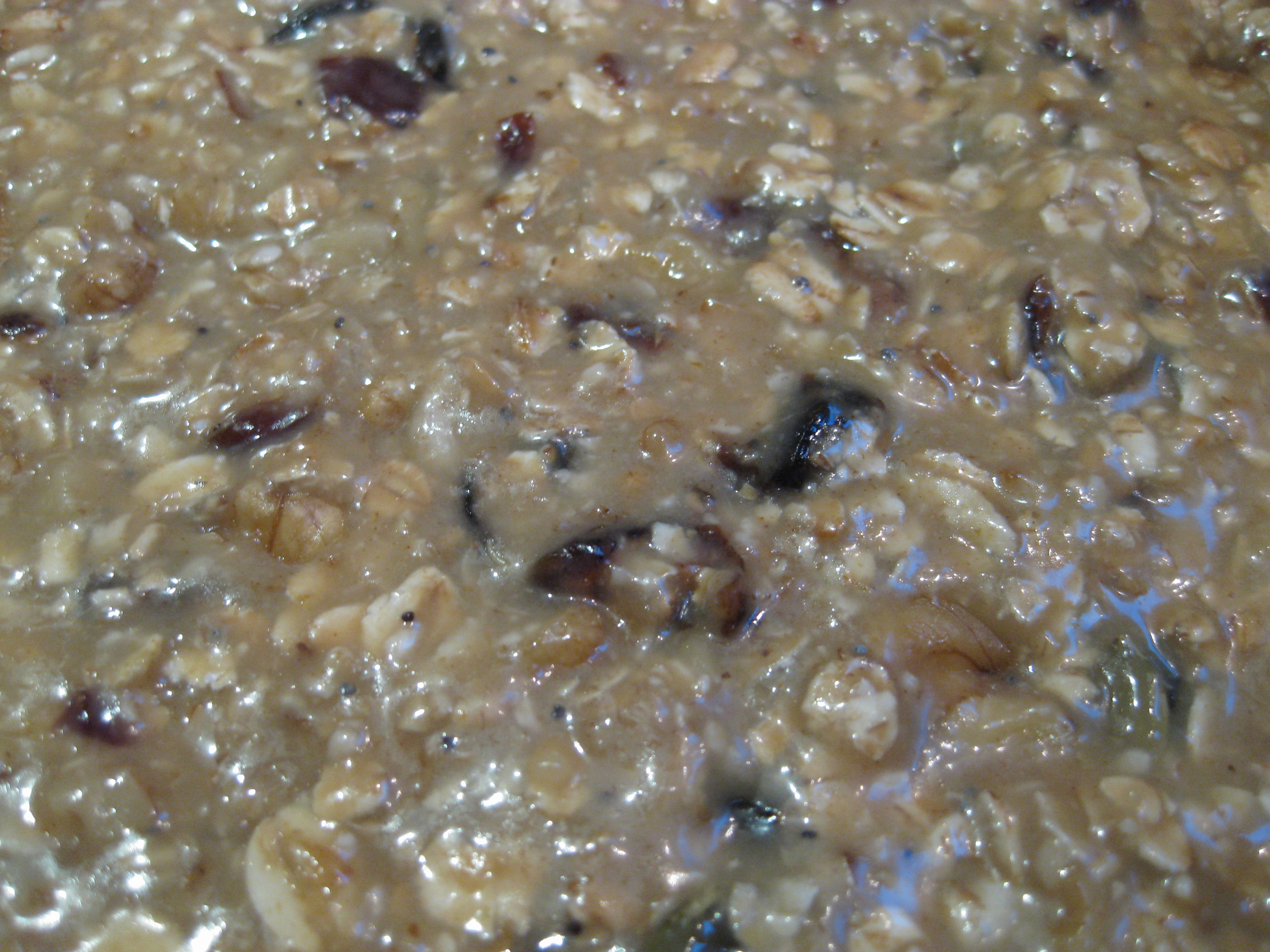... used a Rude Health oat mix including pumpkin and sunflower seeds