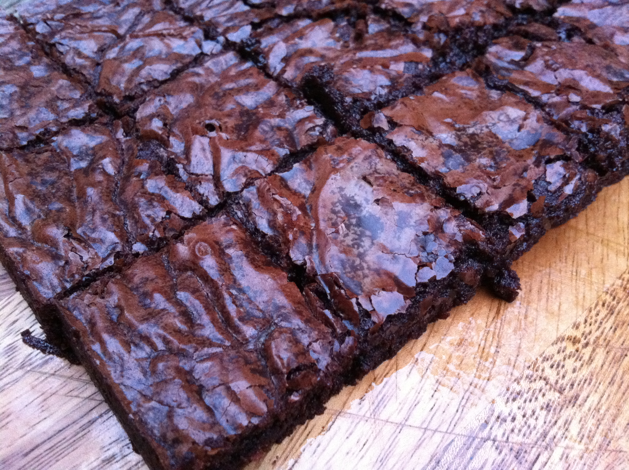 Chewy Chocolate Brownies Thelittleloaf