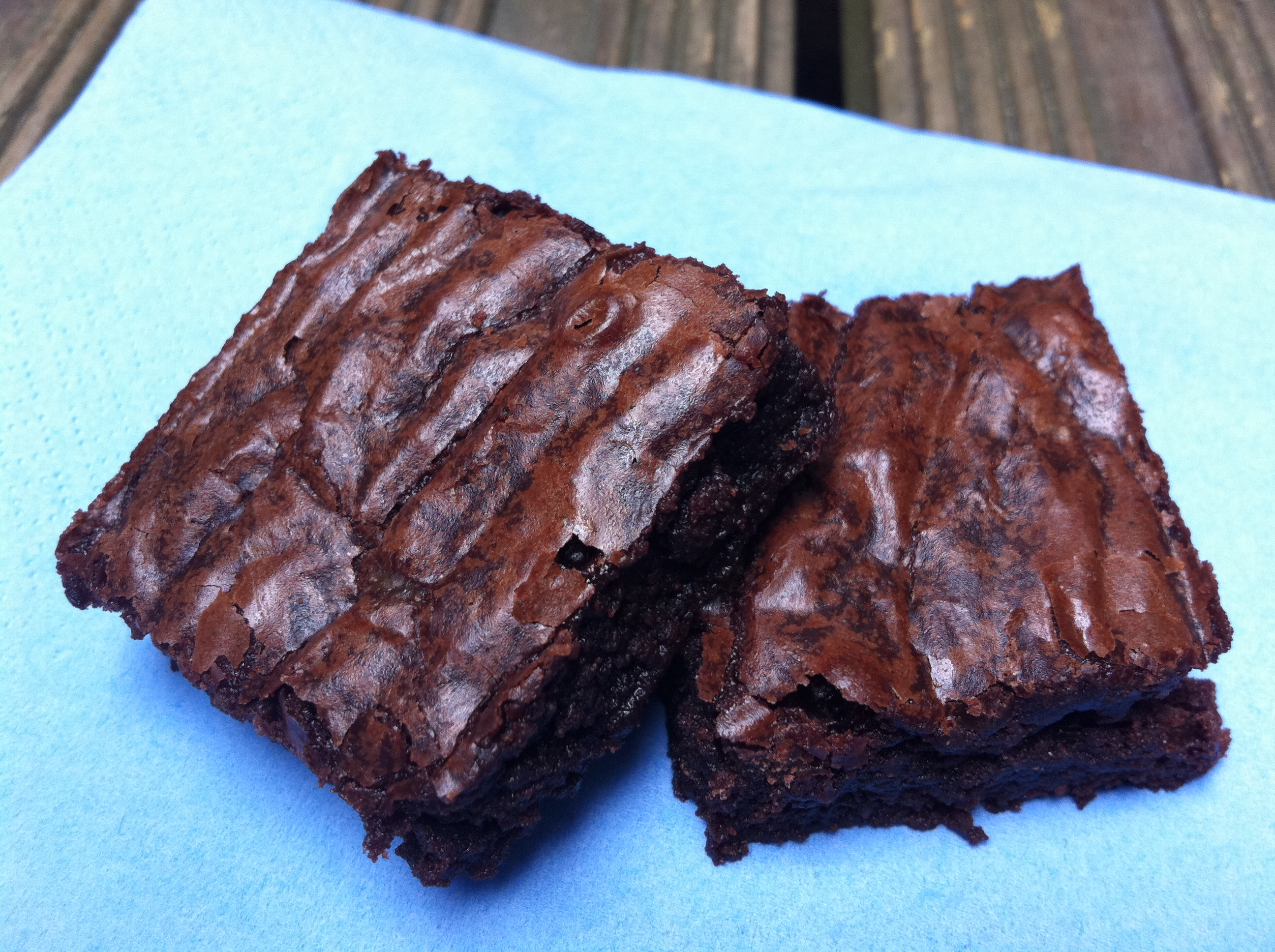 Crispy & chewy – is this the ultimate brownie?