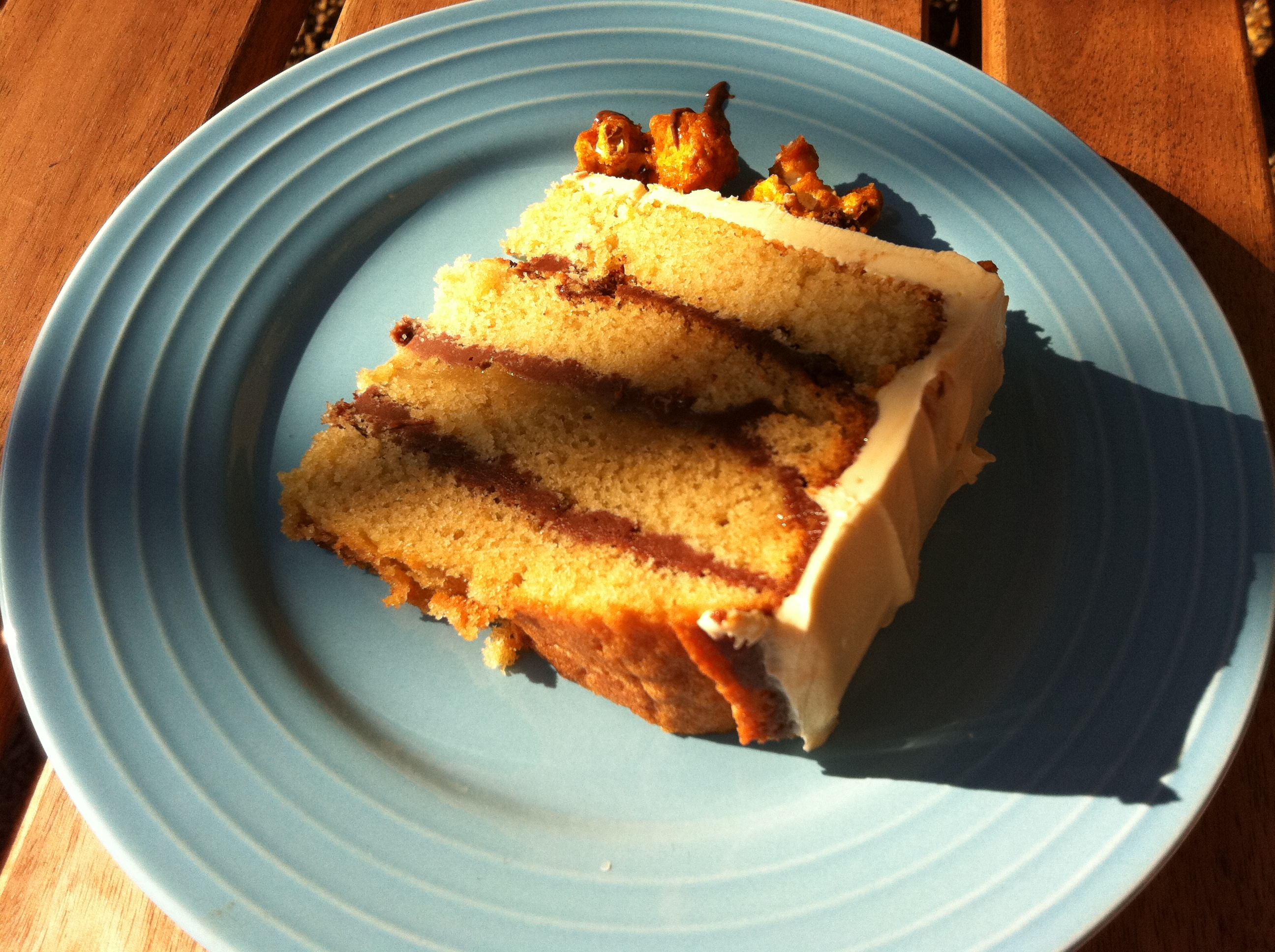 Recipe for toffee sponge cake