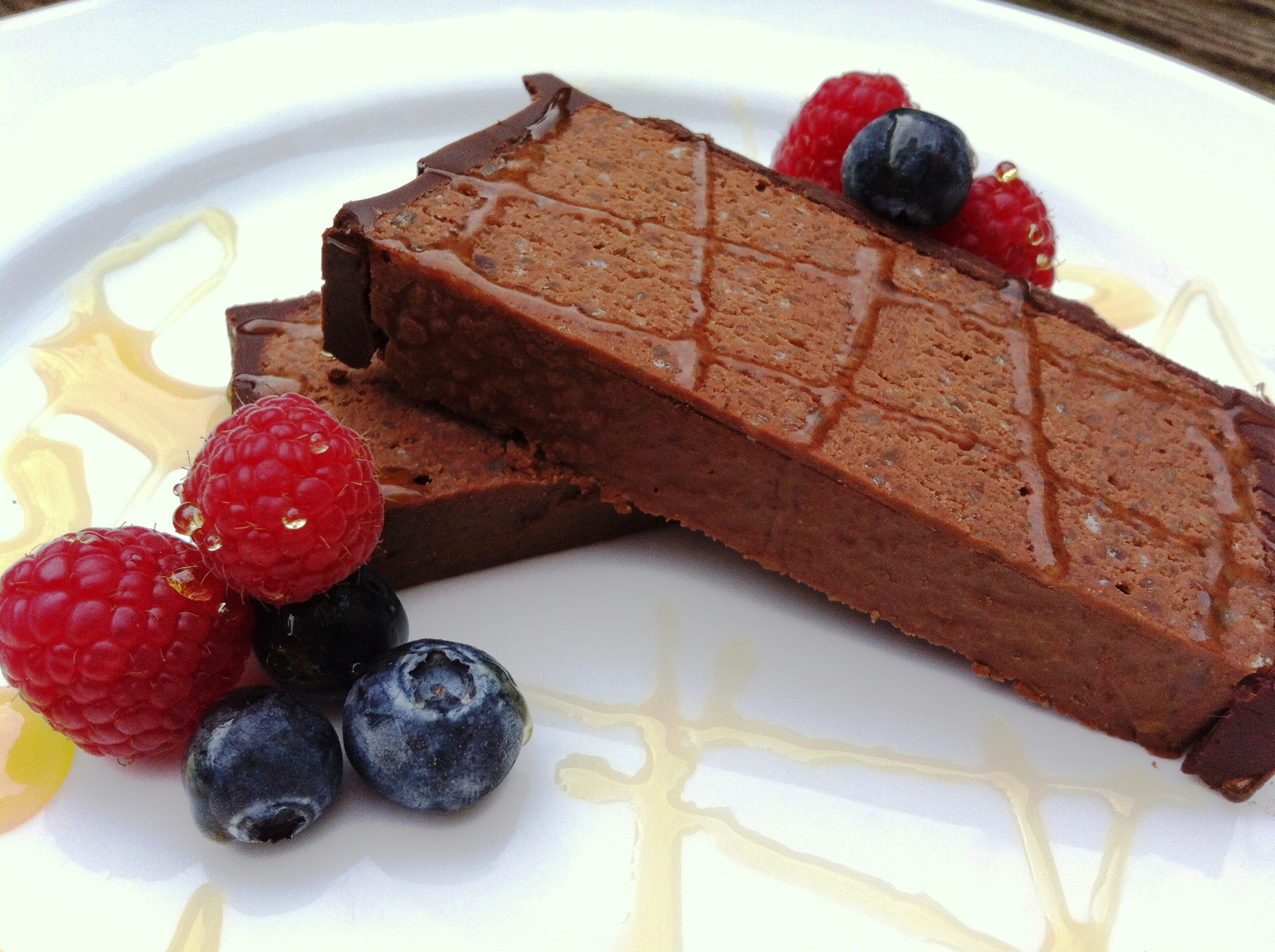 Chocolate Chestnut Torte With Chocolate Cognac Mousse ...