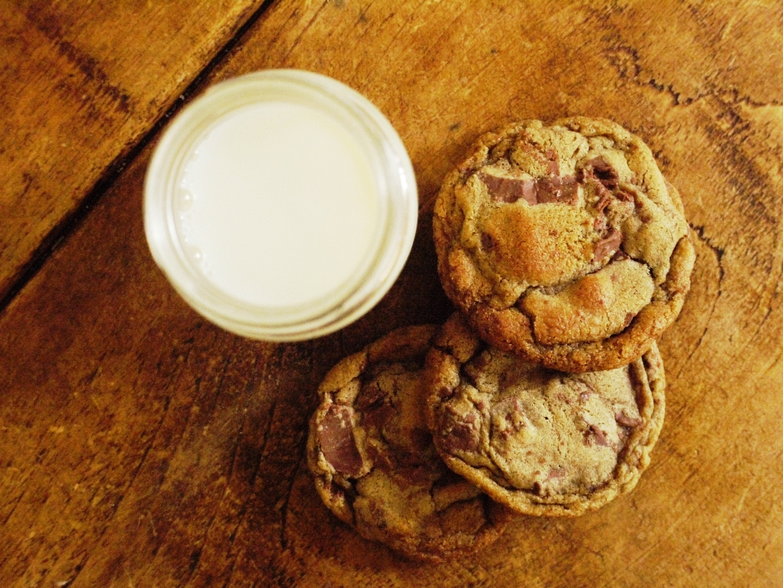 Brown Butter & Buckwheat Milk Chocolate Chunk Cookies ...