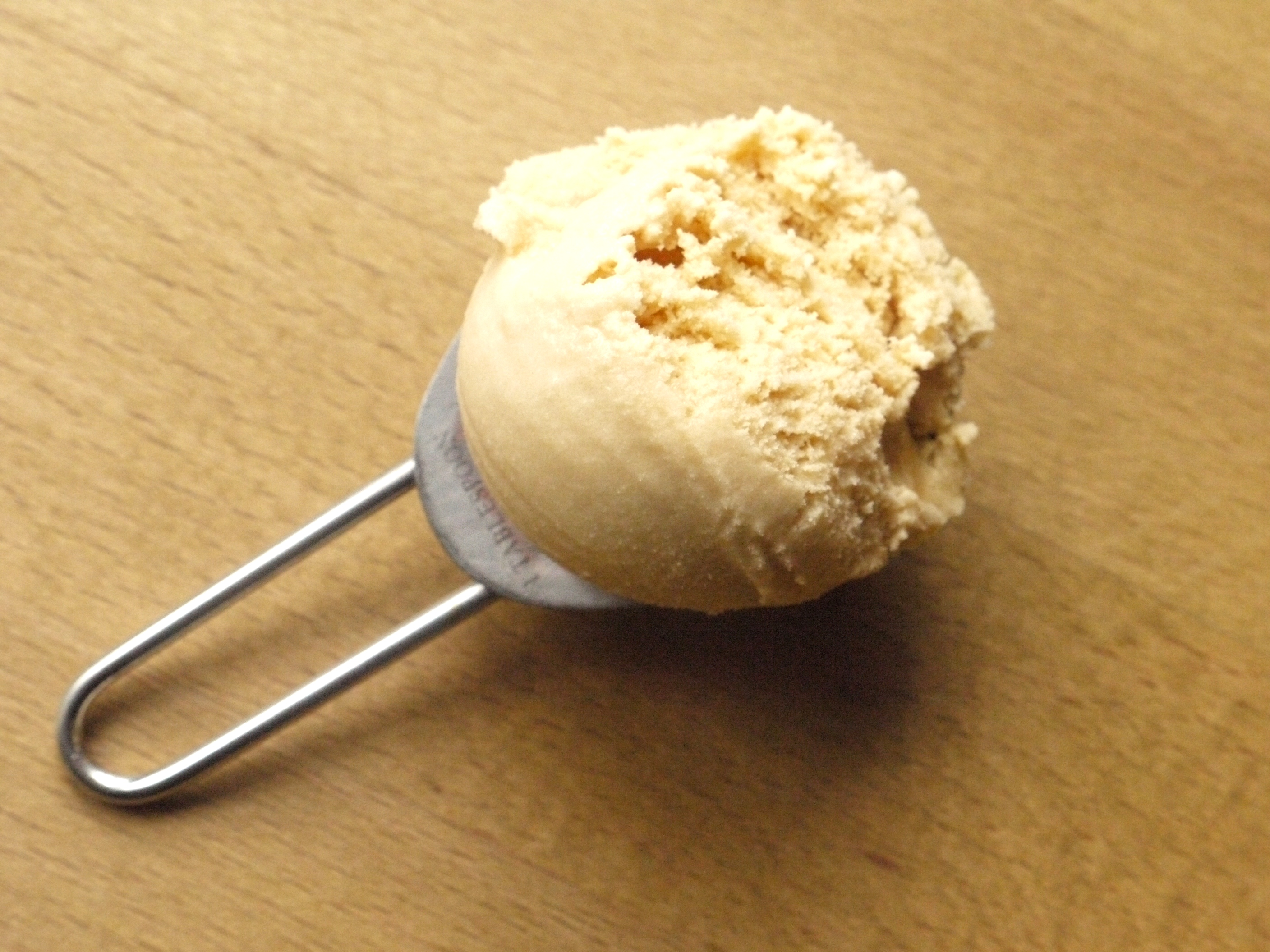 Creamy, dreamy caramel-like dulce de leche ice cream