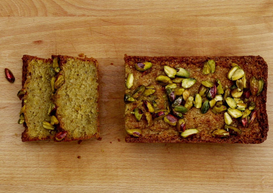 Lemon-Pistachio Crunch Cake Recipe — Dishmaps