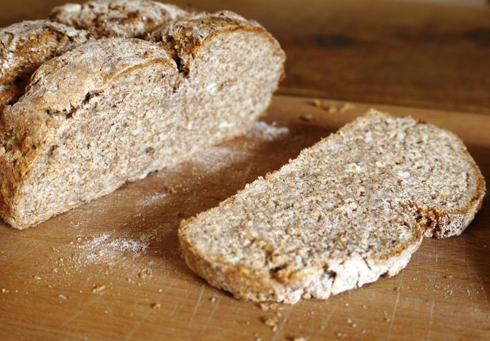 feta thyme bread