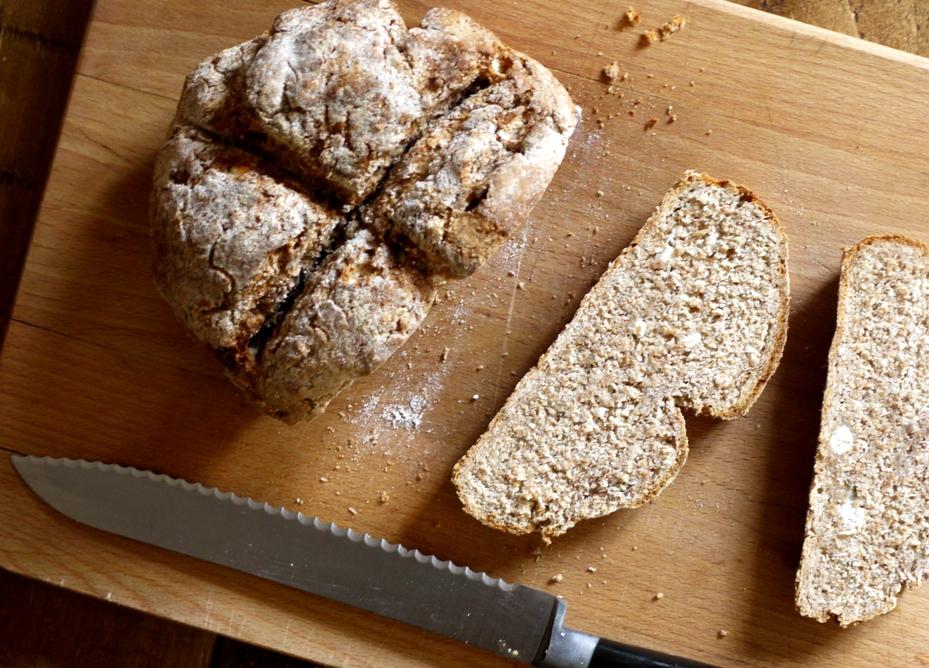 thyme feta bread