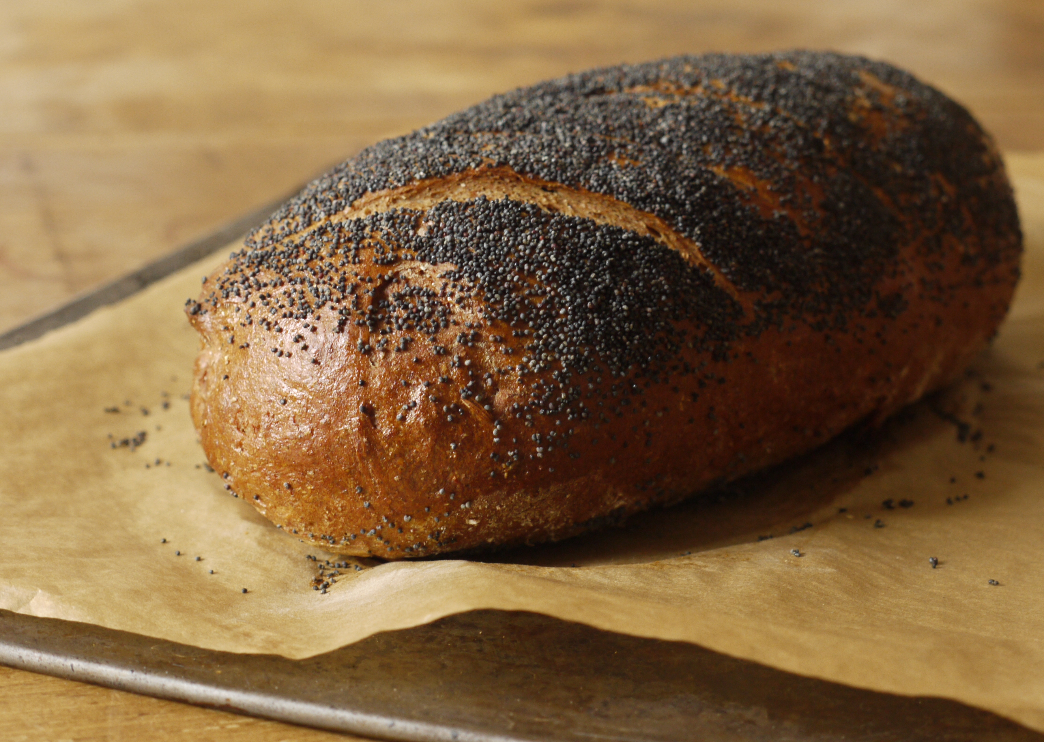 Black Pepper Rye Loaf