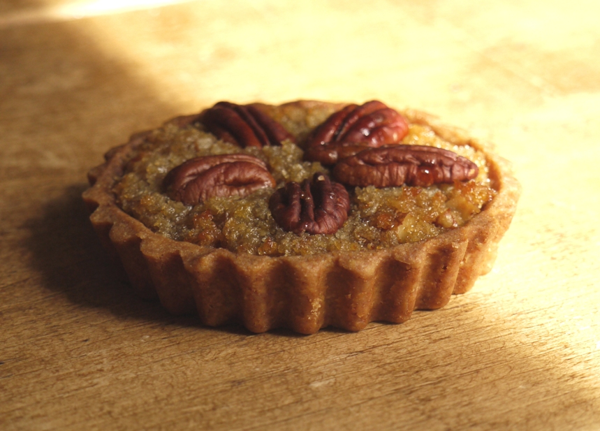 Maple Pear Pecan Treacle Tarts