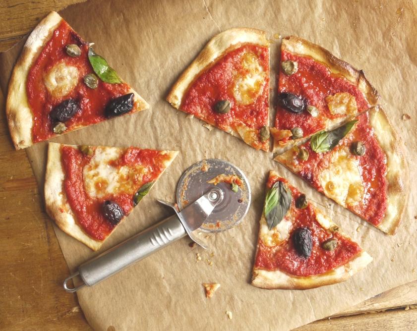 Simple pizza dough homemade