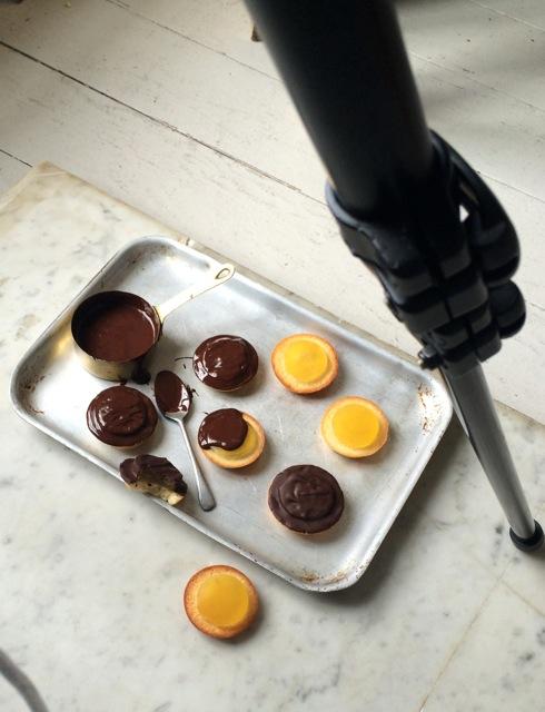 Jaffa cakes photoshoot