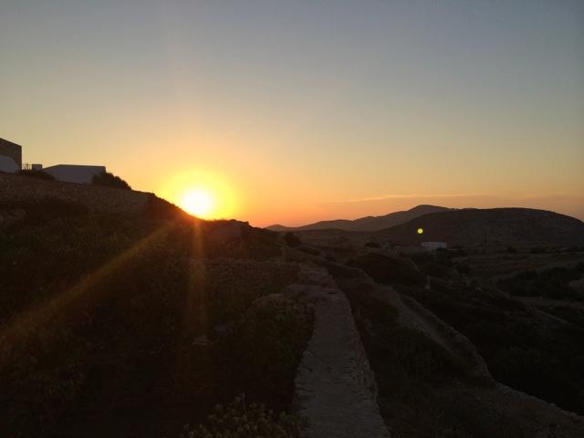 Folegandros sunset