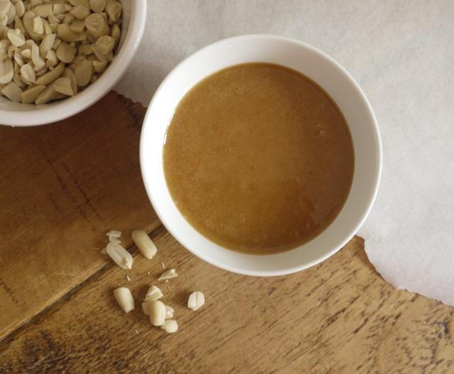 Salted peanut caramel