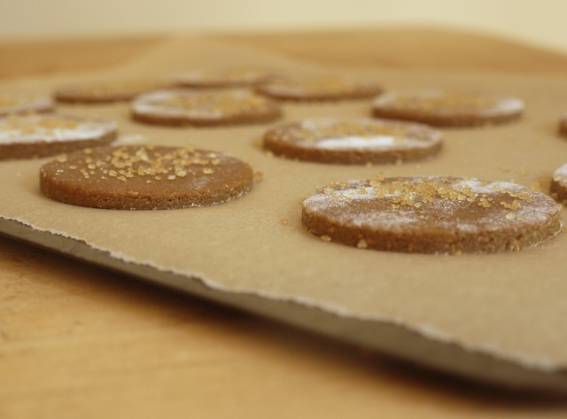 Ginger Nuts before baking