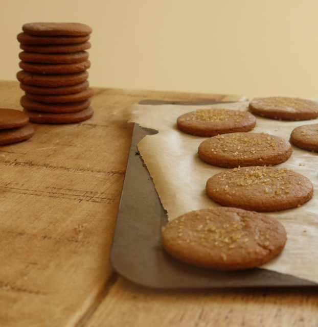 Ginger Nuts stack