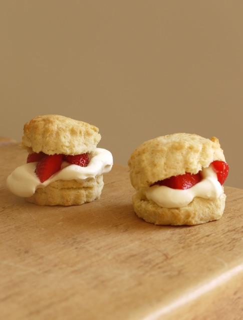 Strawberries & Cream Scones