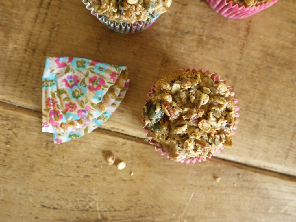 Carrot & Apple Crumble Muffin