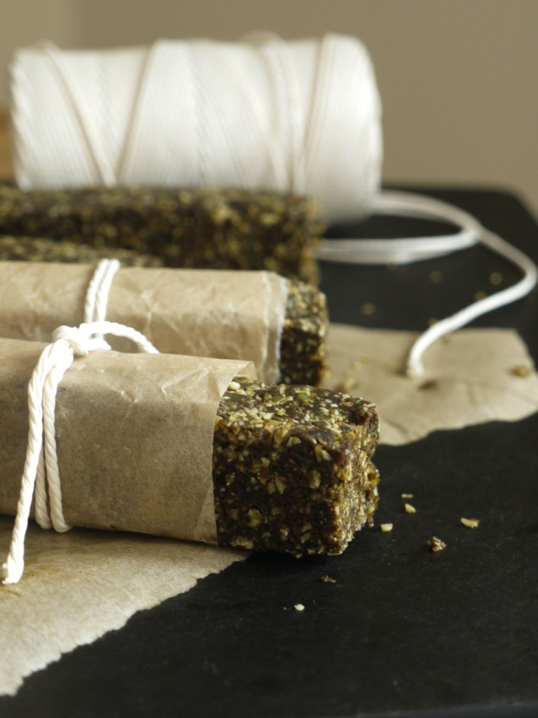 Apricot, Coconut & Hemp Protein Bars Wrapped