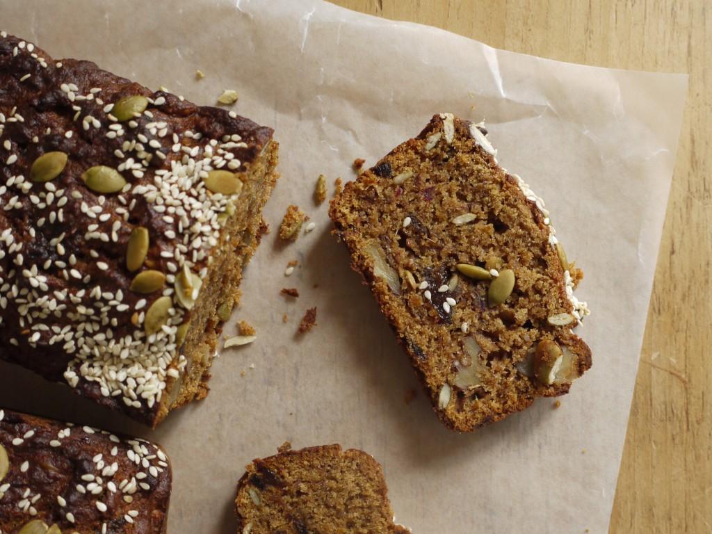 Date, Apricot & Walnut Loaf Cake - Diana Henry