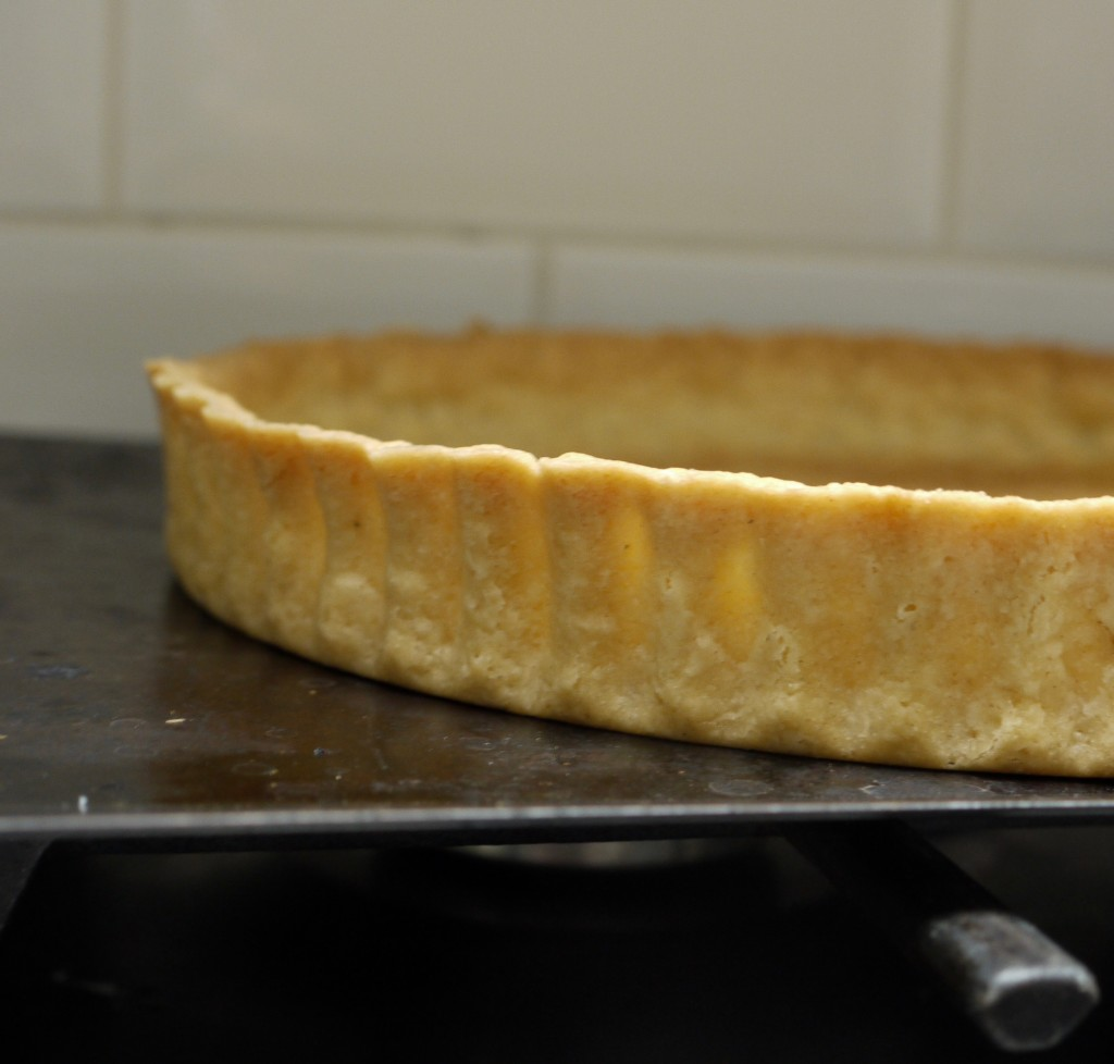 Rhubarb Rye Crumble Tart Pastry