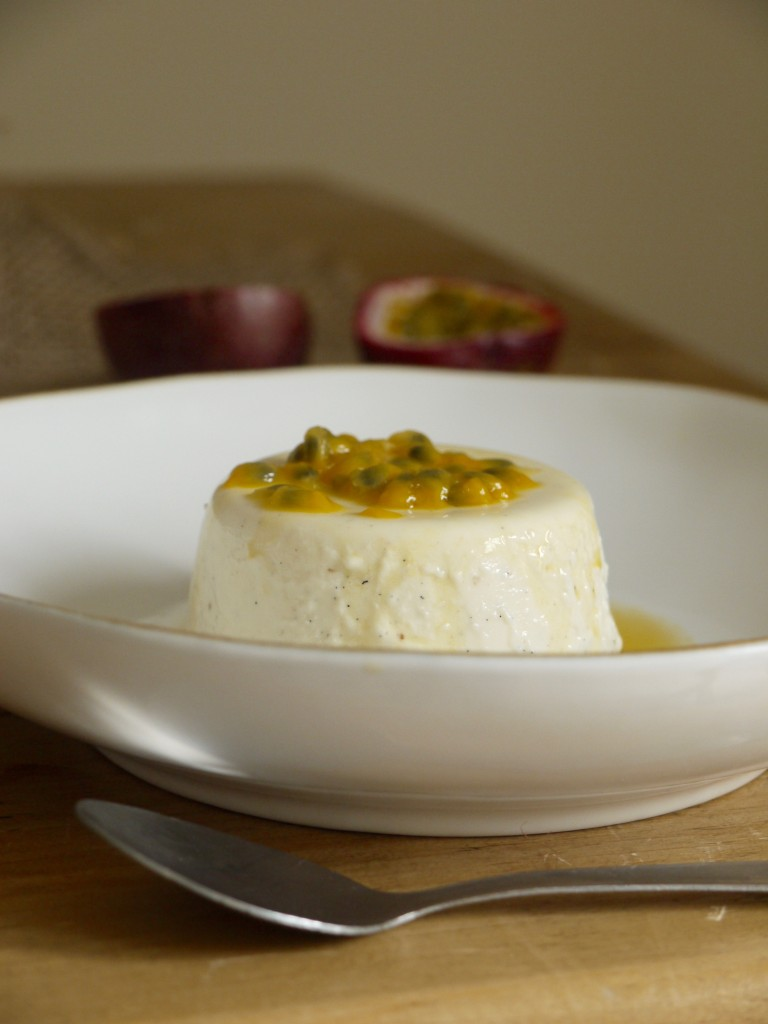 Yoghurt & Passion Fruit Panna Cotta
