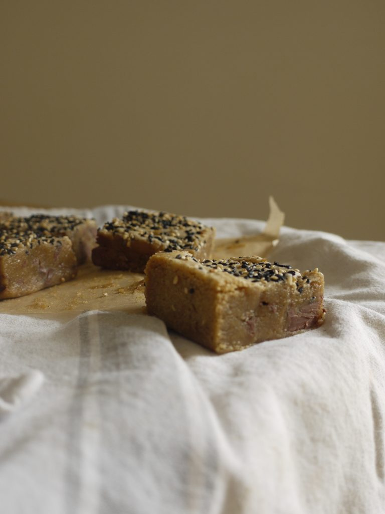 Milk Chocolate Tahini Blondies - 3
