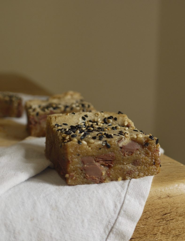 Milk Chocolate Tahini Blondies - 5
