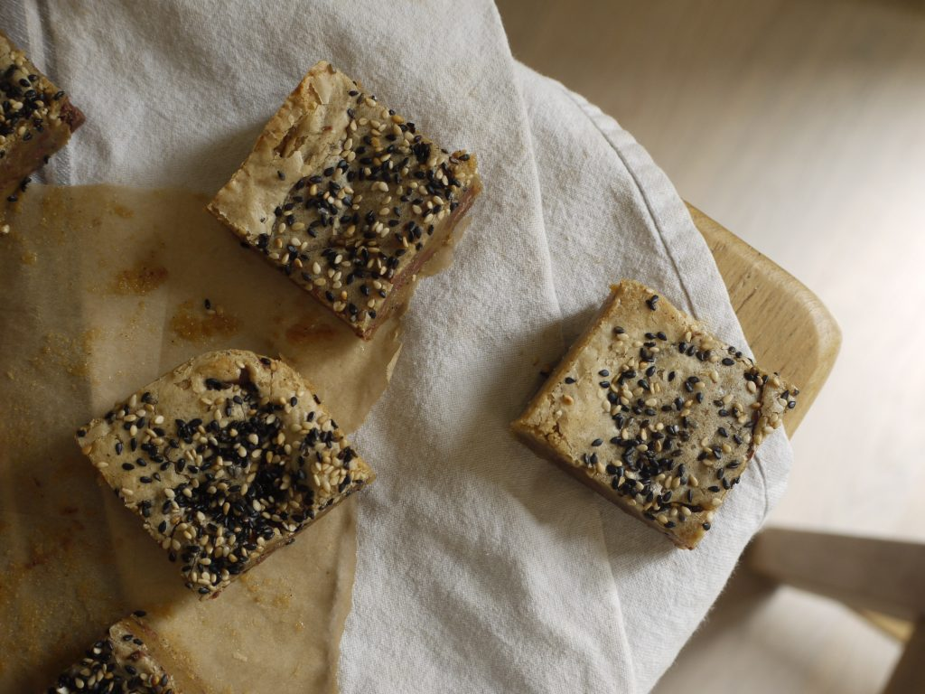 Milk Chocolate Tahini Blondies - 6