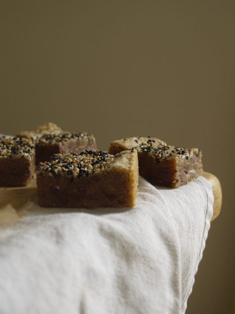 Milk Chocolate Tahini Blondies - 8