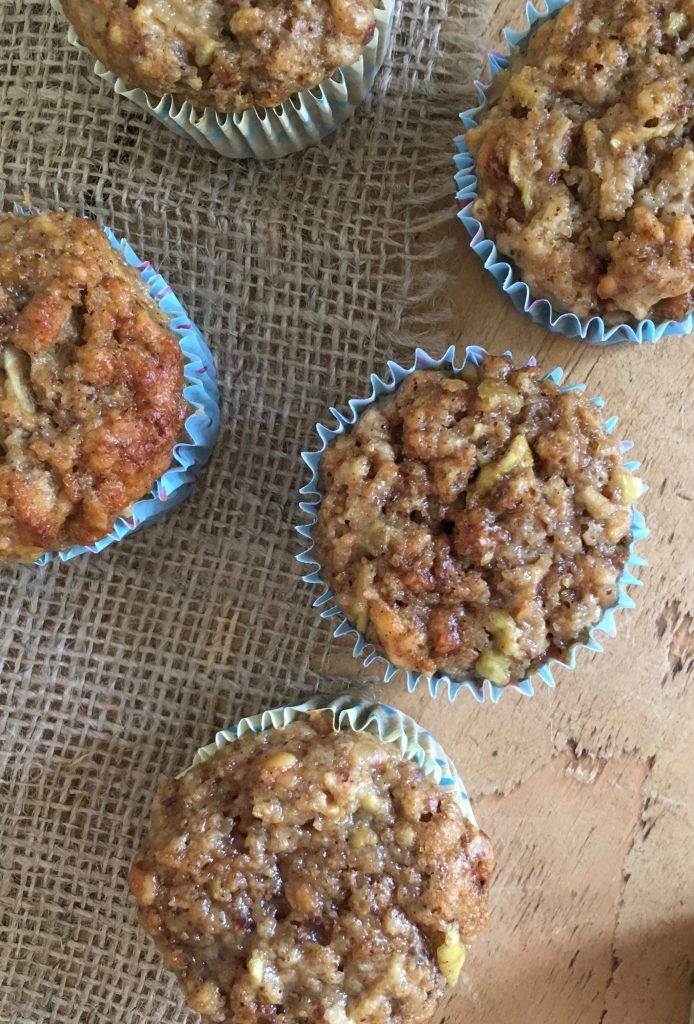 Apple & Peanut Butter Muffins - 3