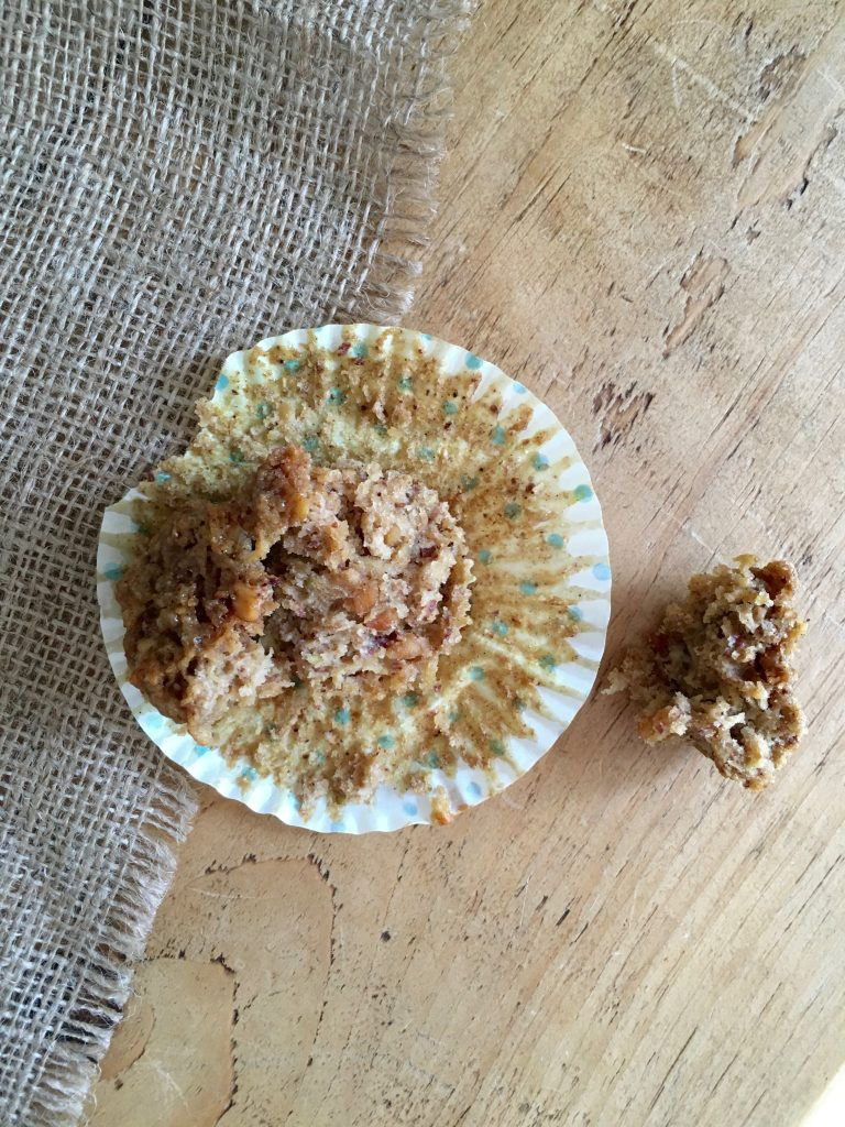 Apple & Peanut Butter Muffins - 5