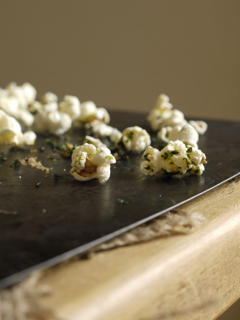 Sweet & Salty Nori Popcorn - 2