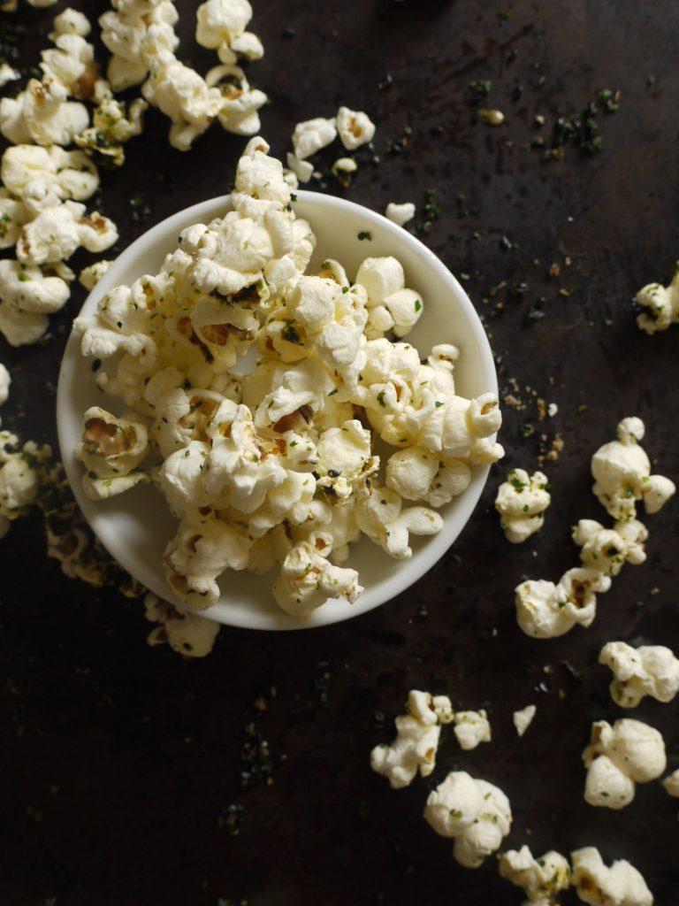 Sweet & Salty Nori Popcorn - 4