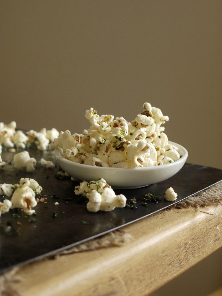 Sweet & Salty Nori Popcorn - 5
