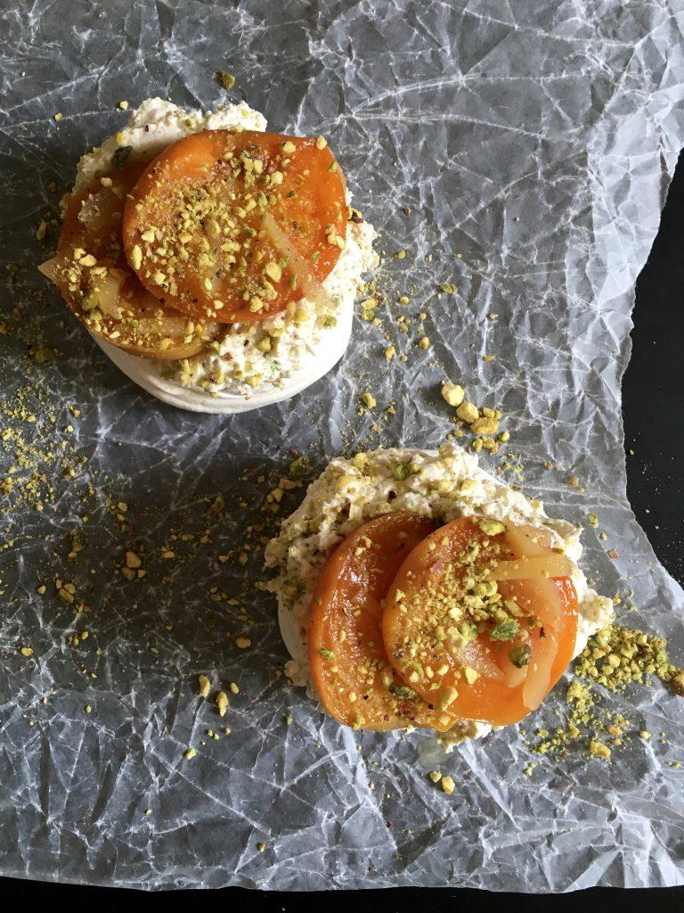 Pistachio, Apricot & Stem Ginger Meringues - 2