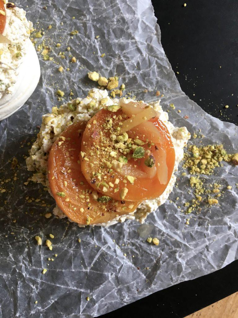 Apricot & Stem Ginger Meringues - 3