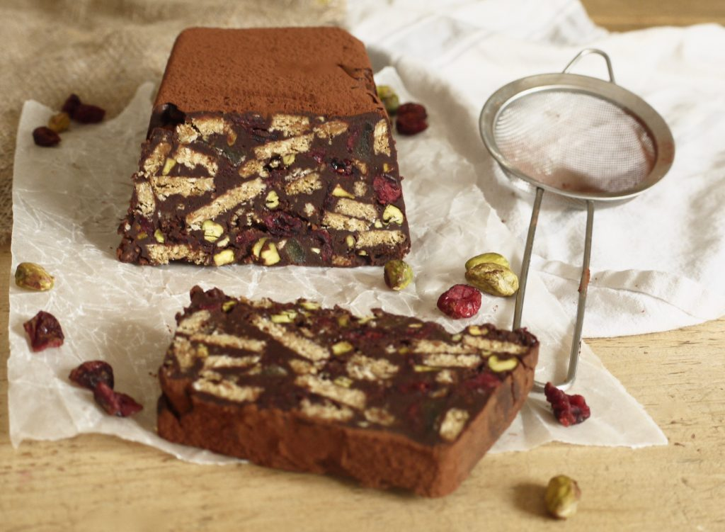 festive-chocolate-biscuit-cake-with-cranberries-pistachios-ginger-2