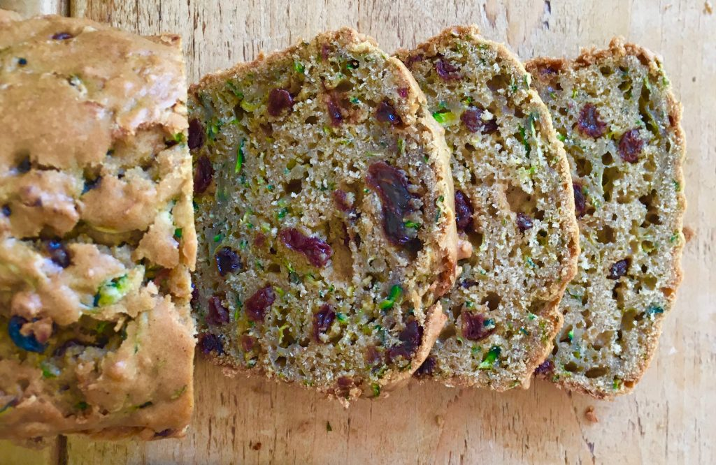 Courgette & Raisin Loaf Cake - 4