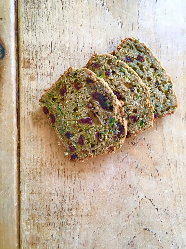 Courgette & Raisin Loaf Cake - 5