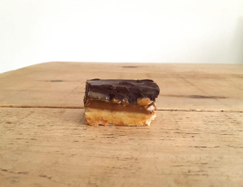 Peanut Millionaire's Shortbread - 1