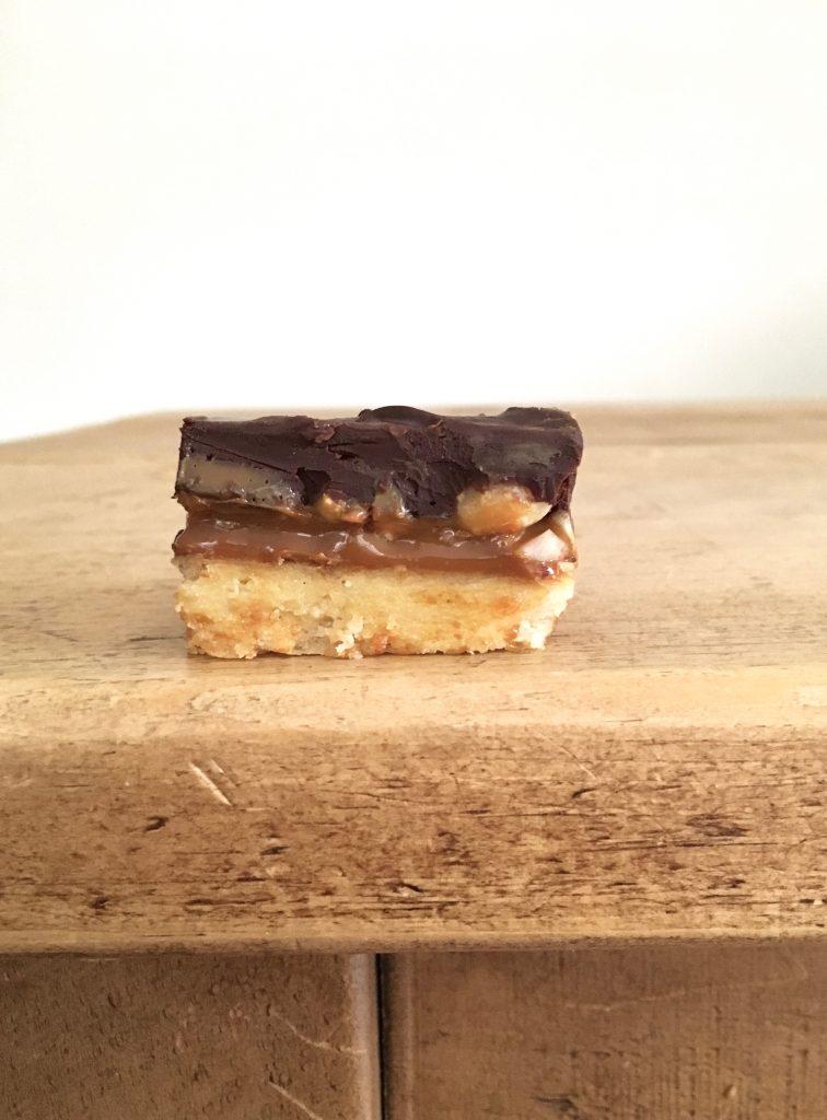 Peanut Millionaire's Shortbread - 4