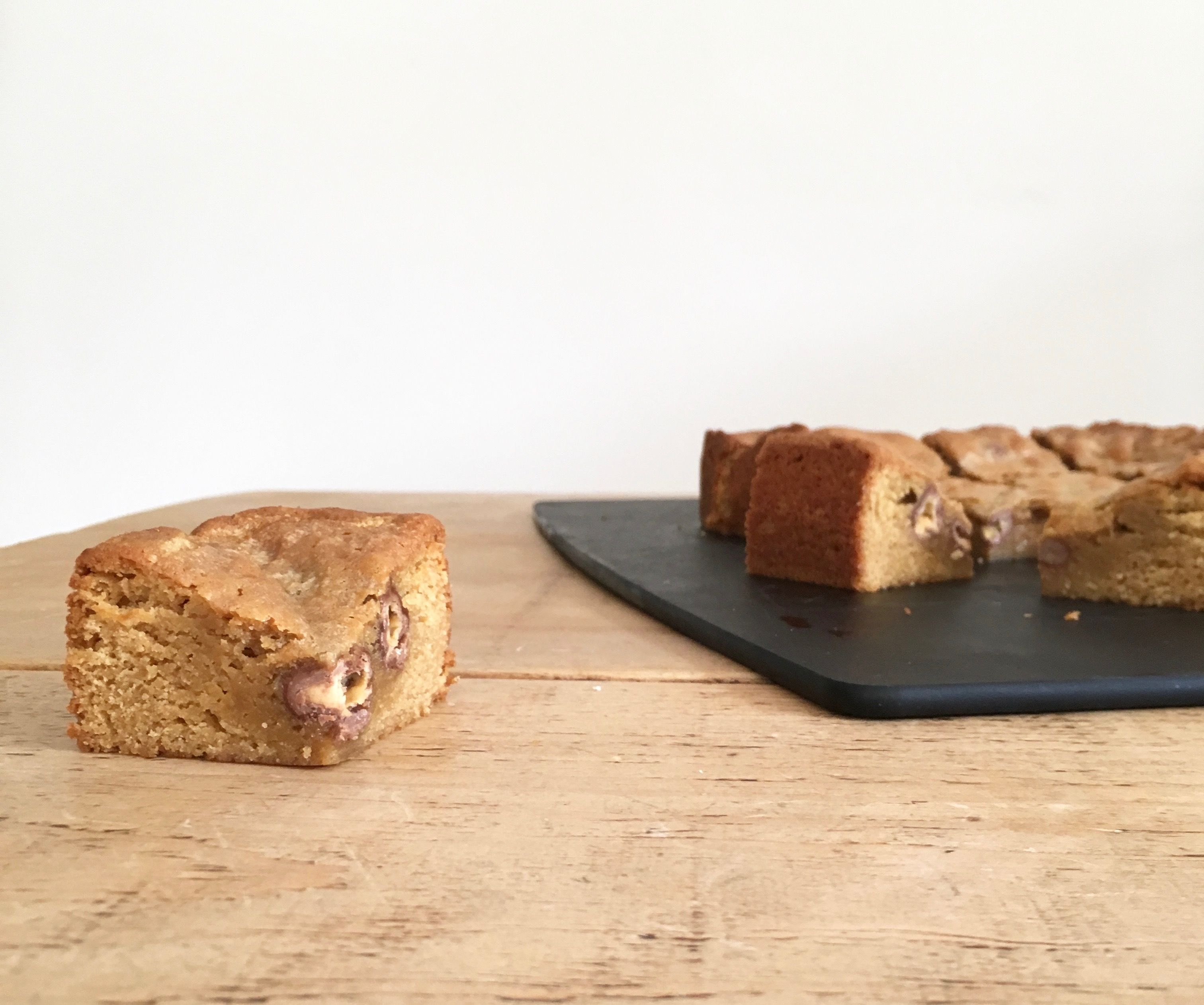 Malted Milk Chocolate Blondies - 3