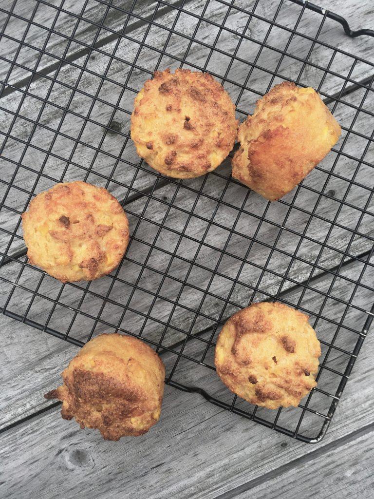 Cheesy Cornbread Muffins - 2