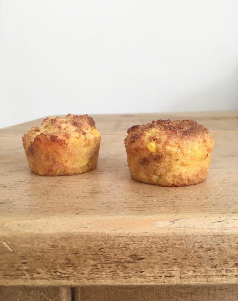Cheesy Cornbread Muffins - 4