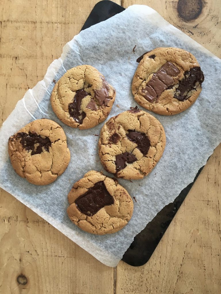 Tahini Chocolate Chunk Cookies - 1