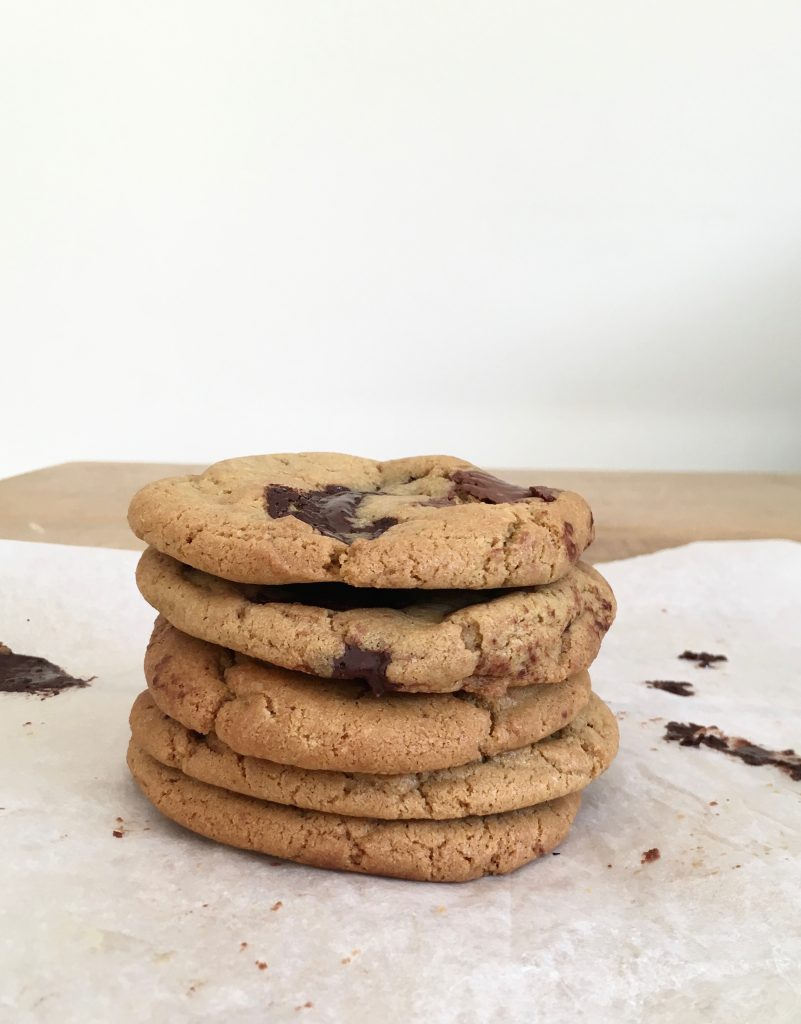 Tahini Chocolate Chunk Cookies - 5