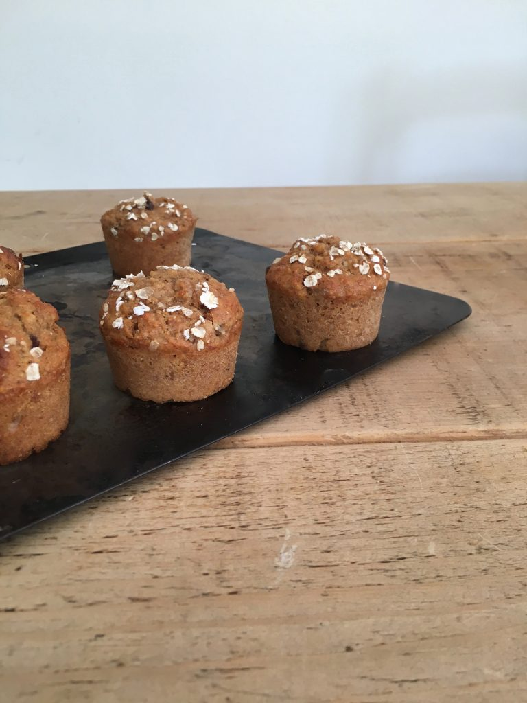 Banana Breakfast Muffins - 4