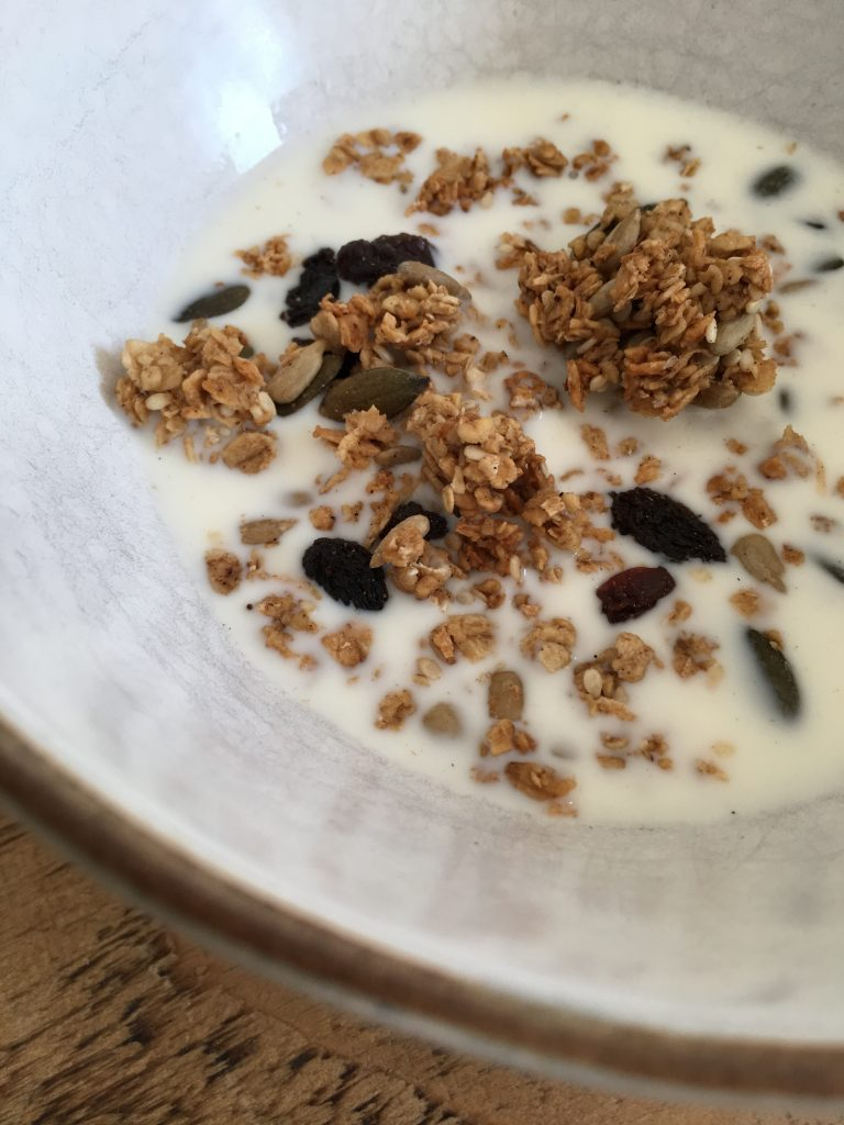 Seedy Coconut Granola