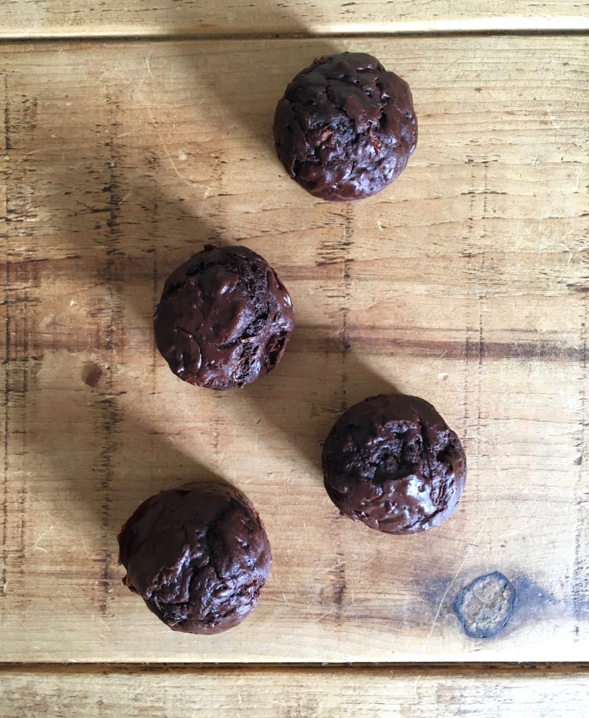 Chocolate Courgette Muffins - 1
