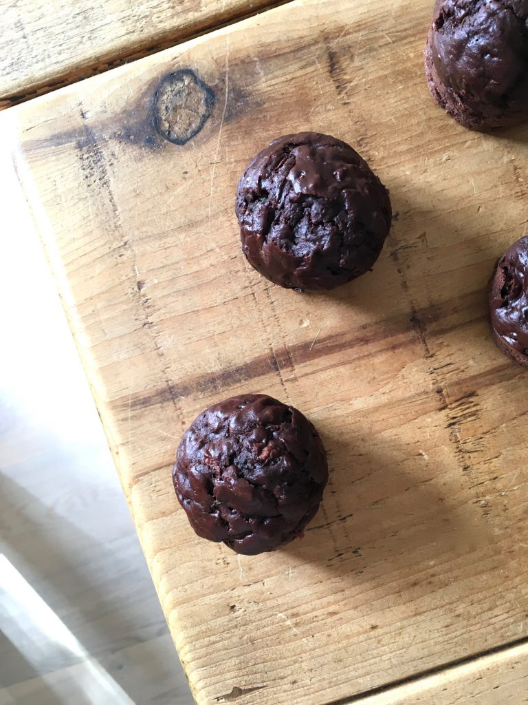 Chocolate Courgette Muffins - 2