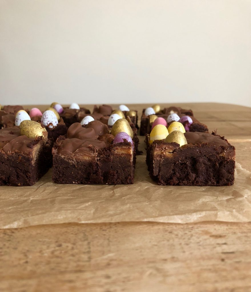 Chocolate Easter Egg Brownies 4